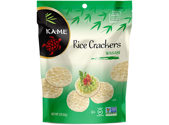 KAME Wasabi Rice Crackers