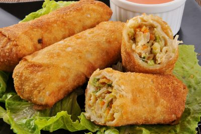 KAME Homemade Crispy Egg Roll Recipe