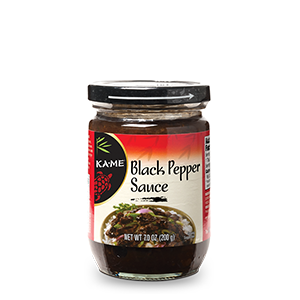 kame black pepper sauce