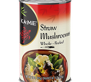 KAME Straw Mushrooms Whole Peeled